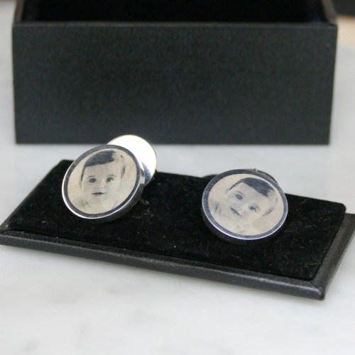 Engraved cufflinks
