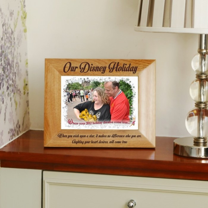 Personalised Holiday Photo Frame