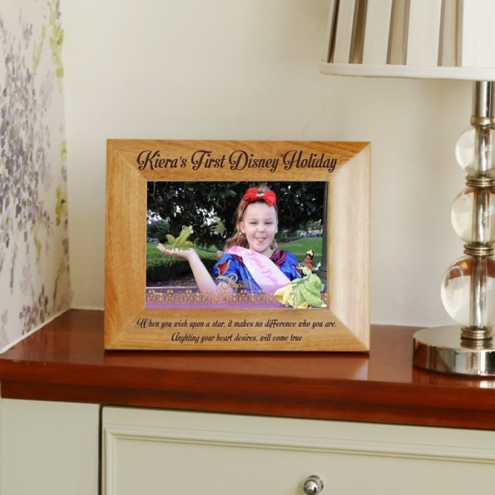 Personalised Holiday Frame