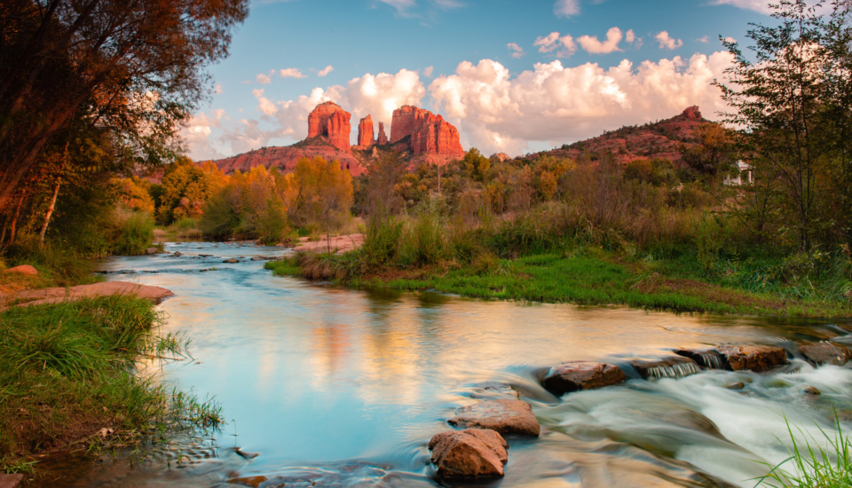 Cathedral Rock at Red Rock Crossing in Sedona, Arizona