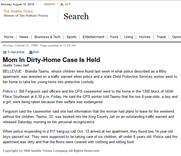 Local News - Mom In Dirty-Home Case Is Held - Seattle Times Newspaper 2016-08-15 19-18-54