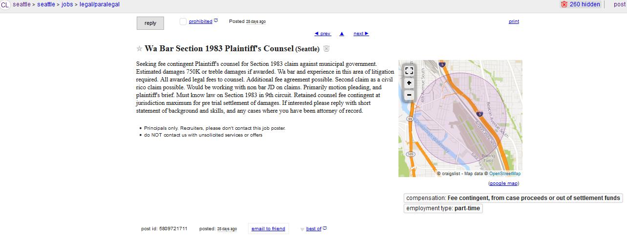 Craigslist snohomish county jobs