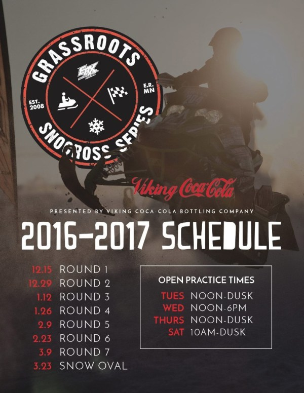 ERX Set to Open Short Track Snocross Track Tomorrow ...