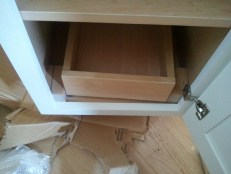 "Pull-out Draw in 15"" cabinet"
