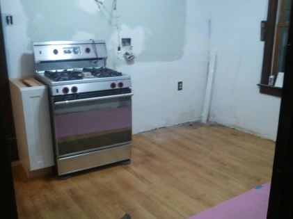 """Kitchen with Stove (with 9"""" stand-in)"""