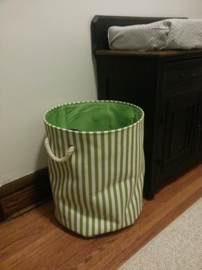 Clothes or toy bin (yet to be determined)