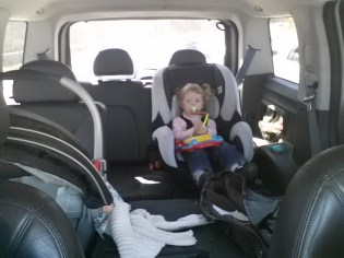 Our truck expanded for two kids.