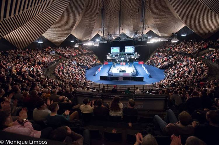 The German Masters draw