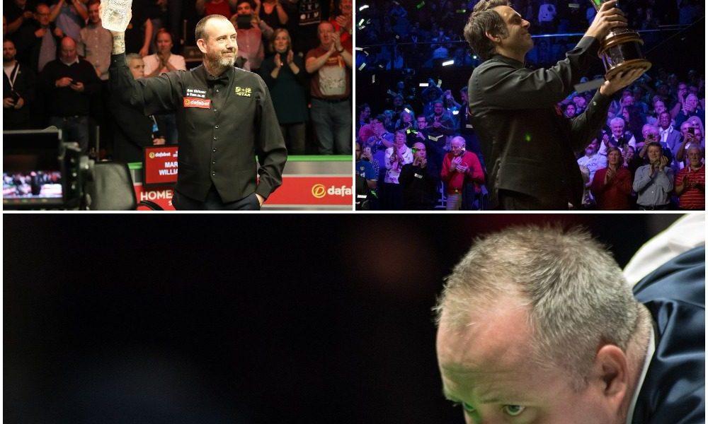 O'Sullivan, Higgins, Williams: Snooker's Trinity