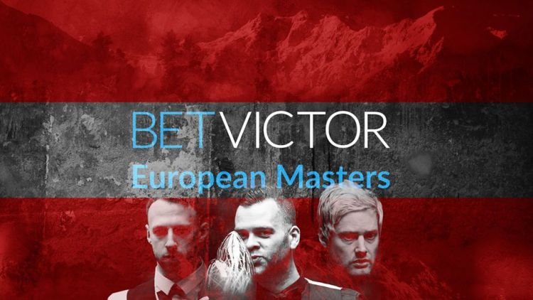 European Masters draw
