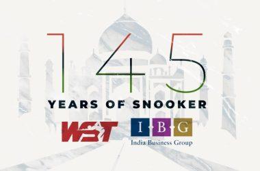 snooker's 145th anniversary