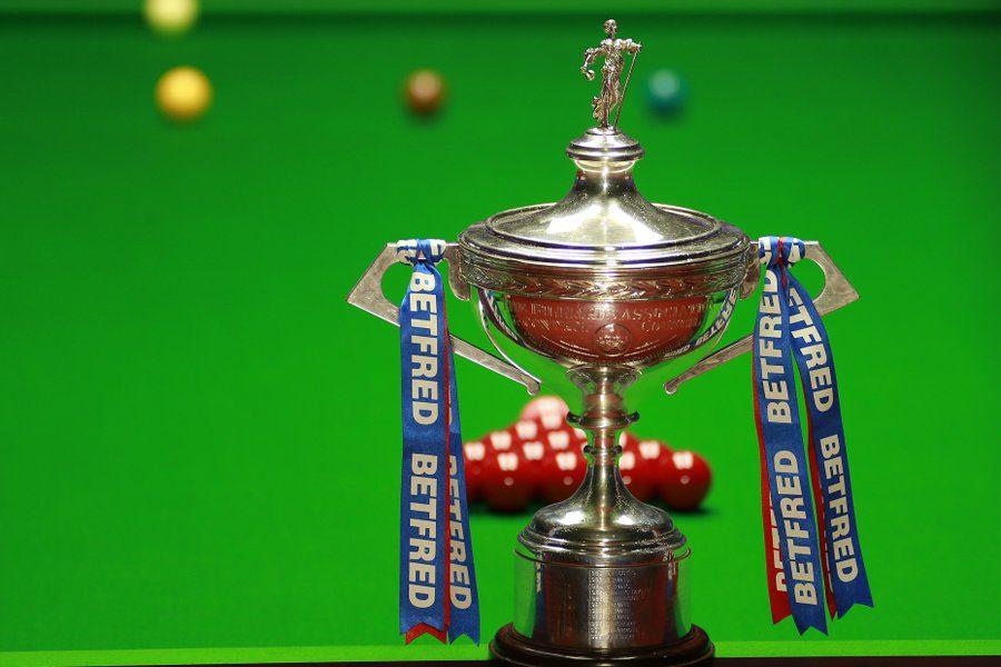 World Snooker Championship draw