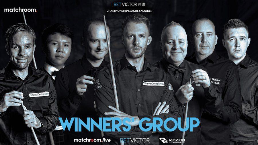 Championship League Winners' Group Draw