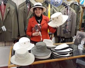 New-in Tilley hats UPF50+