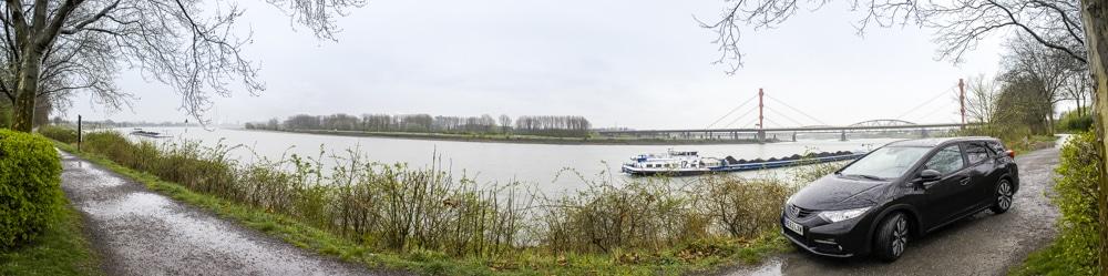Panorama Rheinbrücke Emscherschnellweg