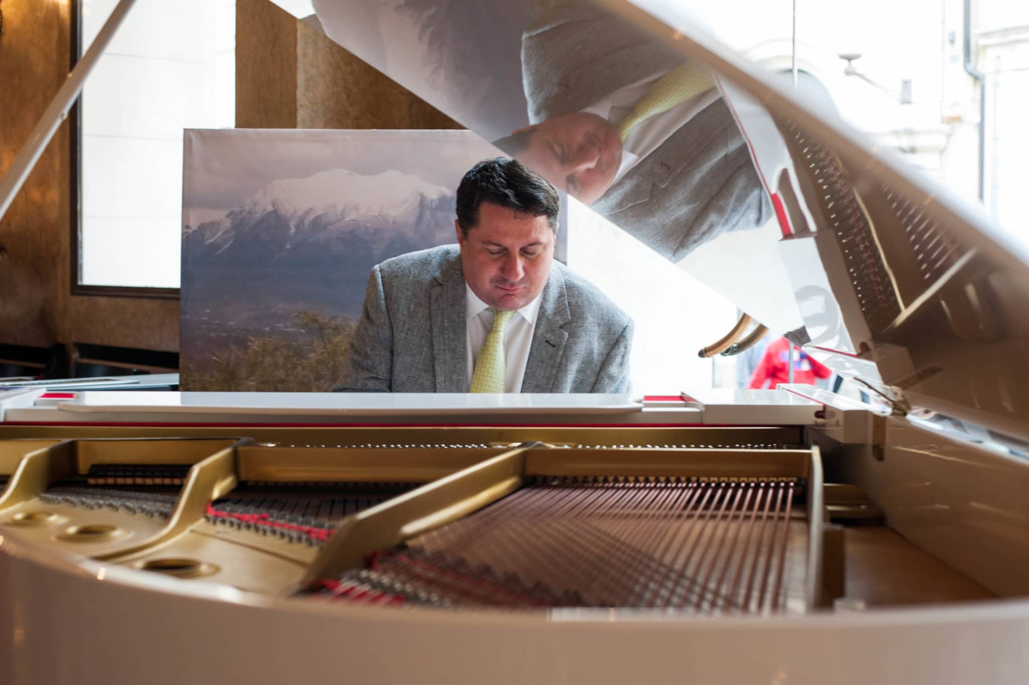 Pianist im Caffè Pedrocchi