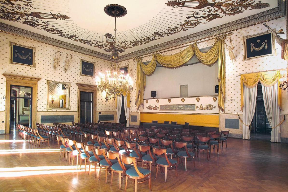 Rossinisaal - Pressematerial Caffè Pedrocchi