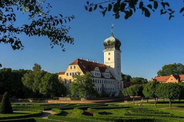 Barockgarten und Barockschloss Delitzsch, Foto: SimSullen auf Flickr, CC BY-SA 2.0-Lizenz