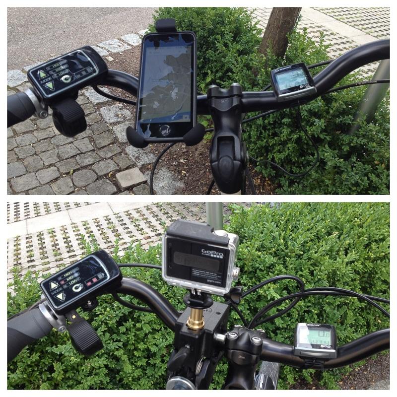 Die Ausrüstung unserer E-Bikes