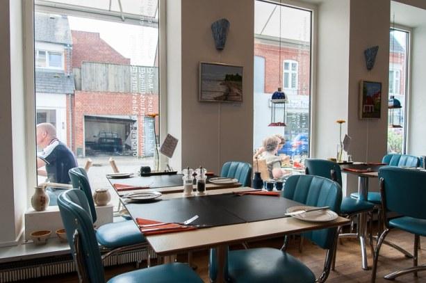 Inneneinrichtung, Café Utopia, Holstebro