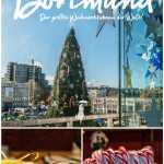 Dortmund hat den größten Weihnachtsbaum der Welt auf seinem Weihnachtsmarkt