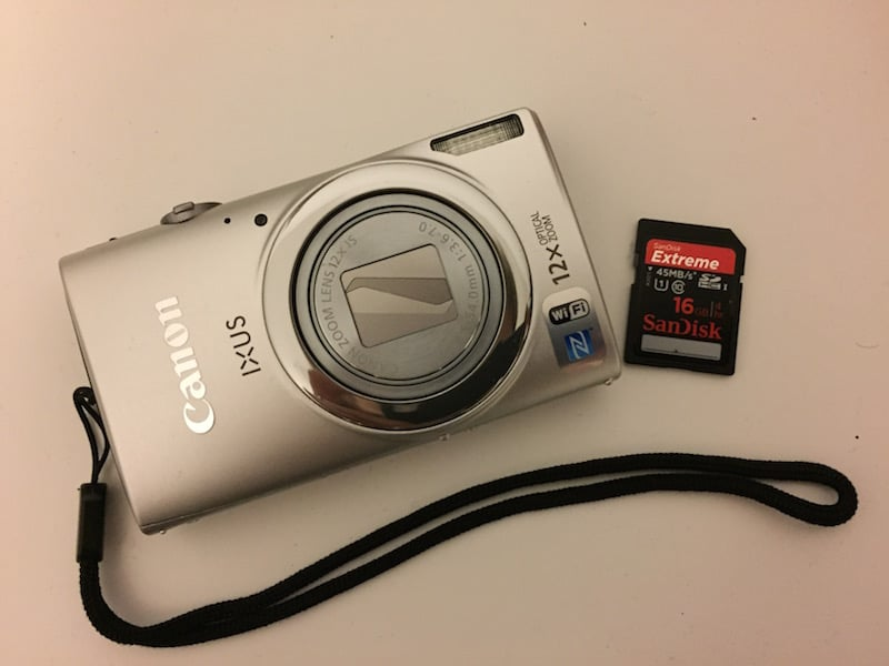 Canon IXUS 265 HS in silber