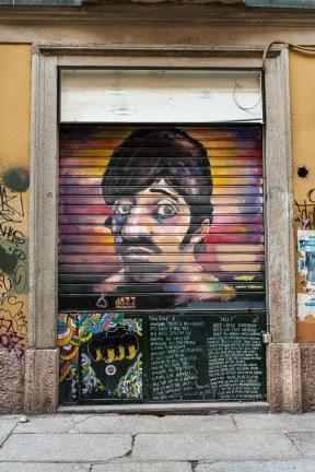 Streetart Ringo Star Die Beatles Collection am Sergeant Pepper's