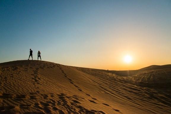 Fotostop 1 - Sonnenuntergang in der Wüste Foto: Simon Bierwald (Indeed Photography)