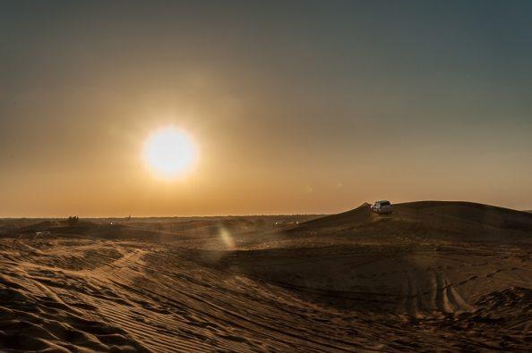 Fotostop 1 - Sonnenuntergang in der Wüste