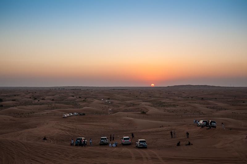 Fotostop 2 - Sonnenuntergang in der Wüste
