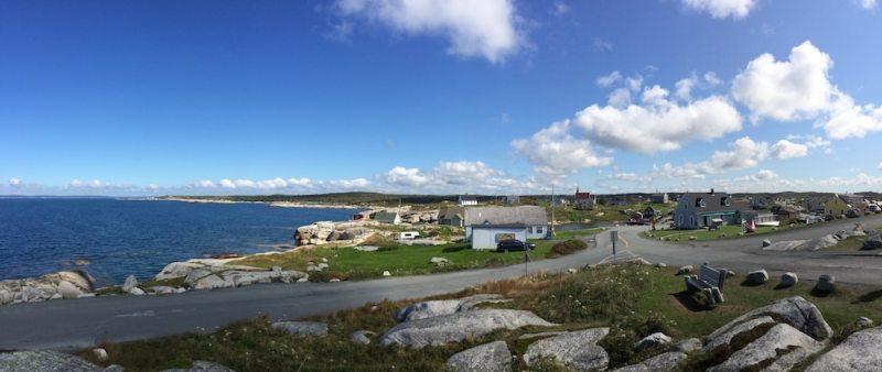 Blick auf Peggy's Cove