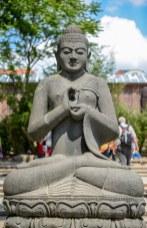 Indische Gottheit im Leipziger Zoo, Foto: Simon Bierwald (Indeed Photography)