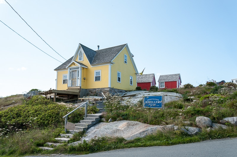 Souvenirshop in Peggy's Cove