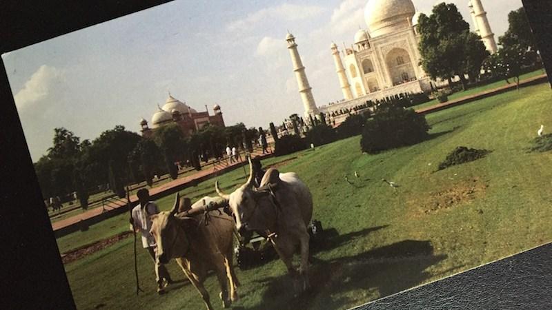 Postcard of the Week Taj Mahal, Agra (Indien)