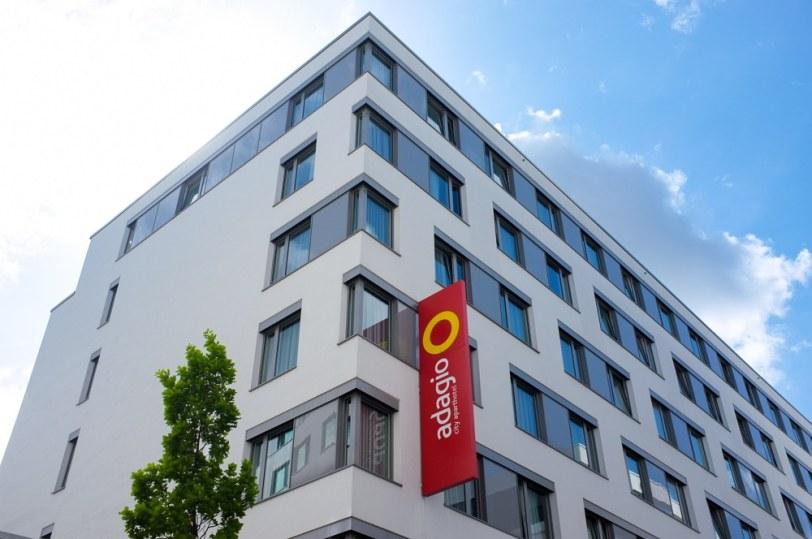 Fasade Adagio Aparthotel Berlin