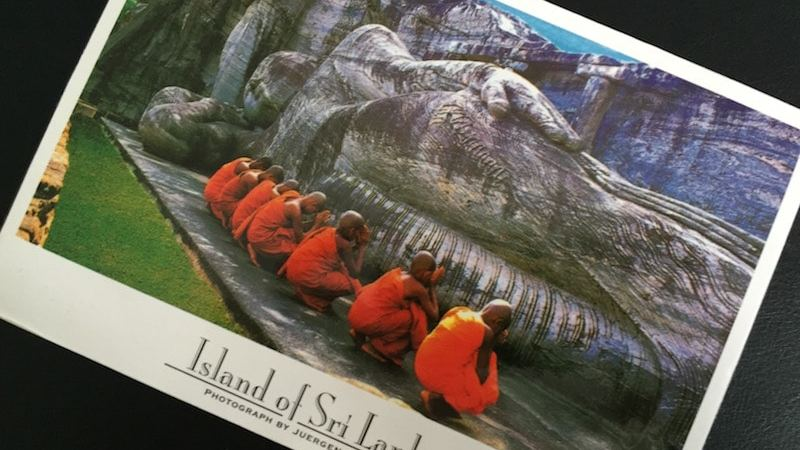Postcard of the Week, Sri Lanka #pcotw