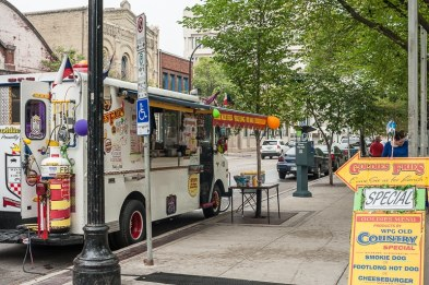 Food Truck am Old Market Square