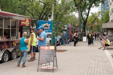 Food Truck am Broadway