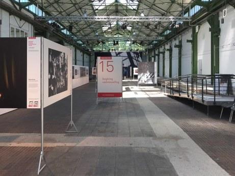 Eingang zur Ausstellung in Dortmund