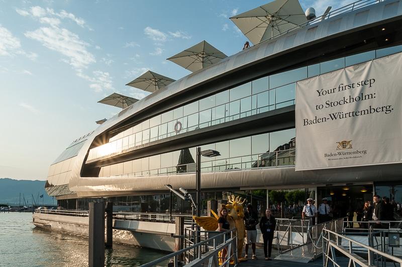 MS Sonnenkönigin im Hafen von Lindau