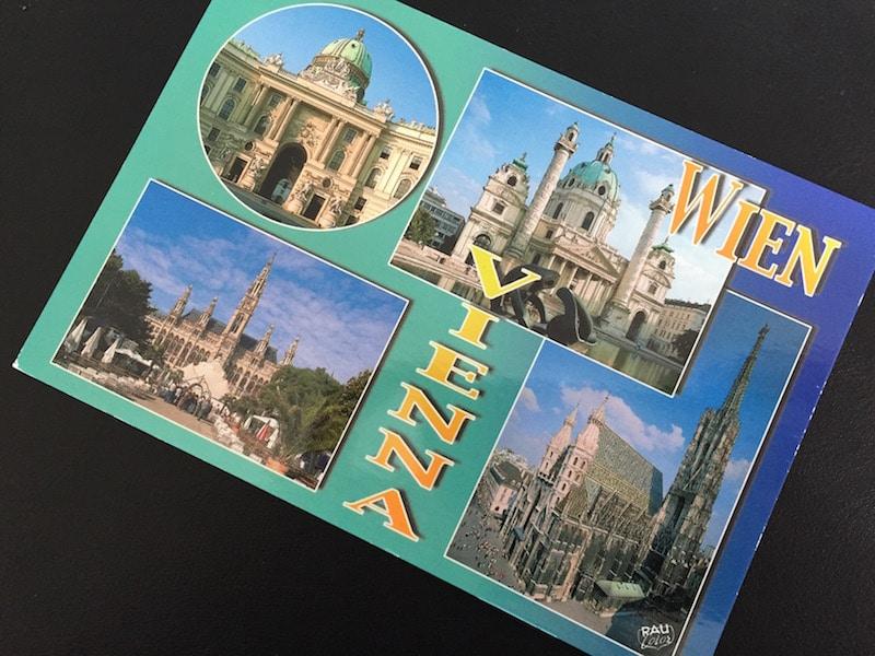 #pcotw Postcard of the Week - Wien, Österreich