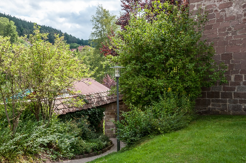 Garten/Hof der Klosterkirche
