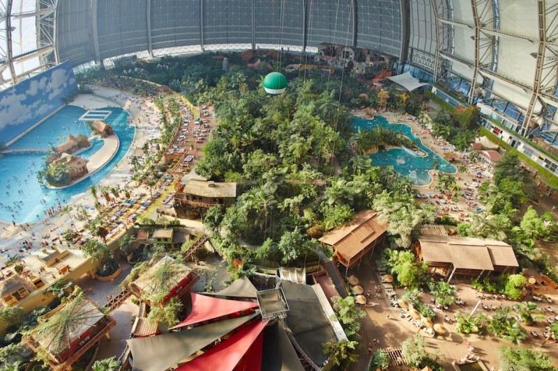Tropical Islands Überblick - Pressefoto