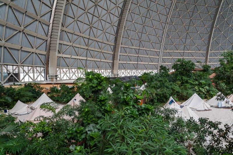 Zelte im Rainforest Camp