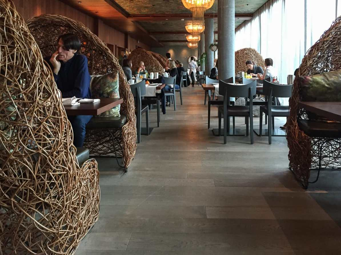 Restaurant Cocon - Frühstückslocation im Seerose Resort & Spa.