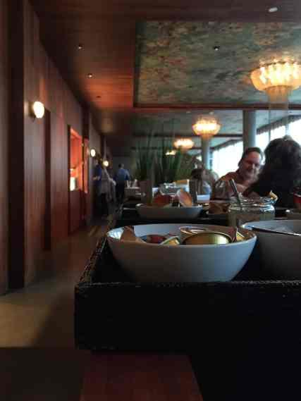 Frühstück im Restaurant Cocon