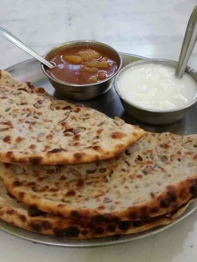 Onion Parantha