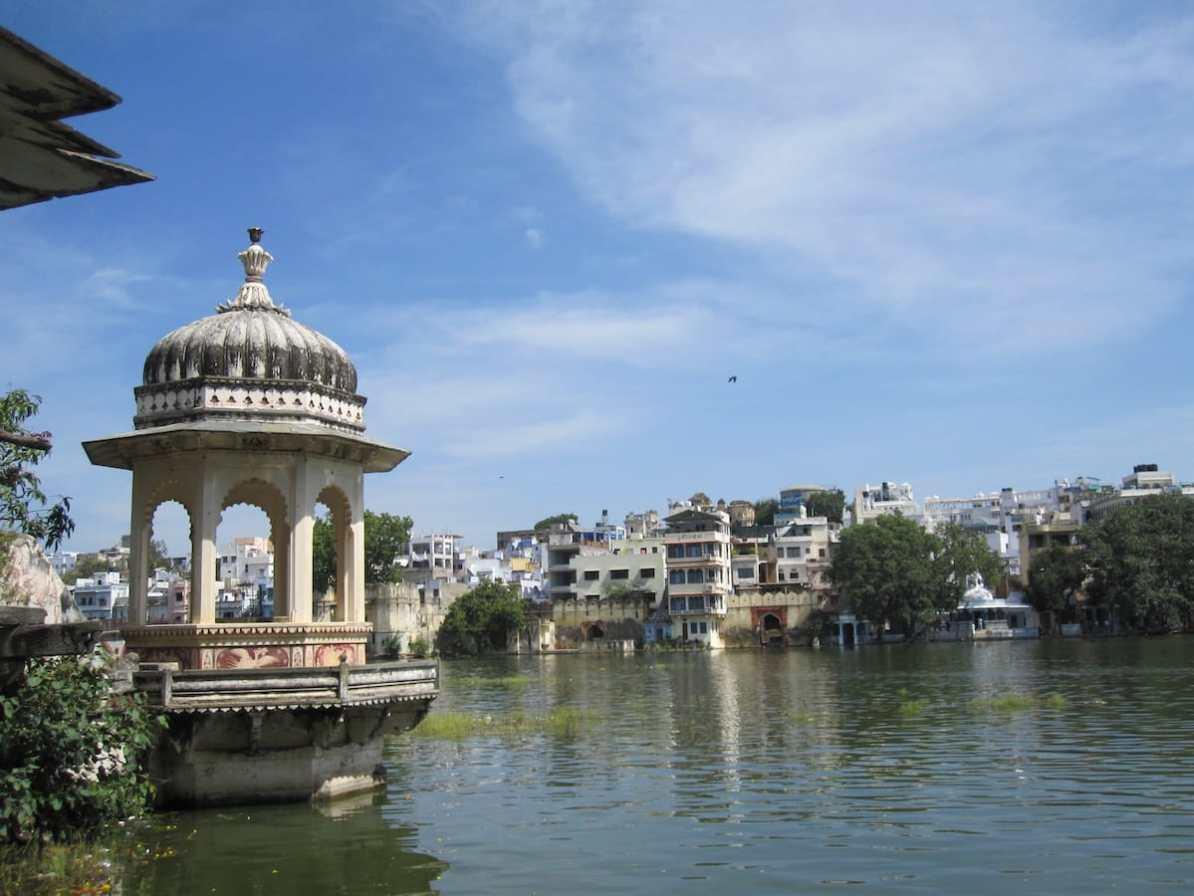 See in Udaipur, Indien