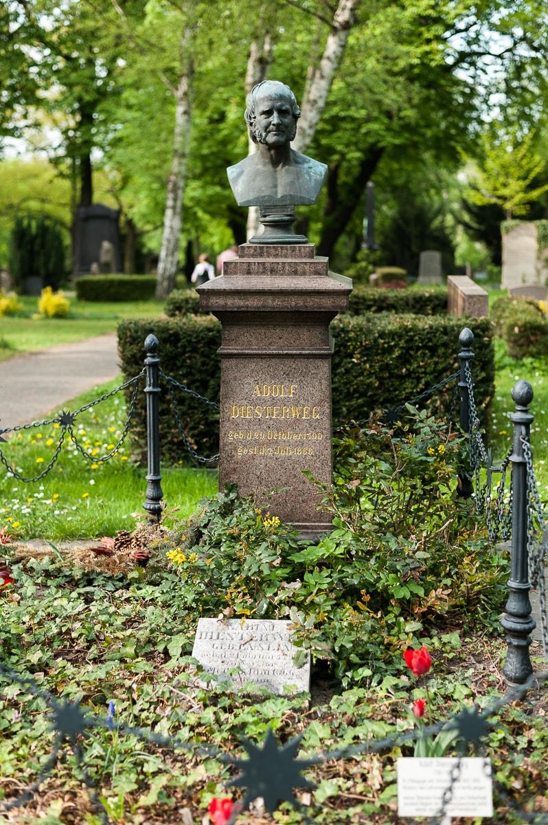 Grabstätte Familie Adolf Diesterweg (Pädagoge)