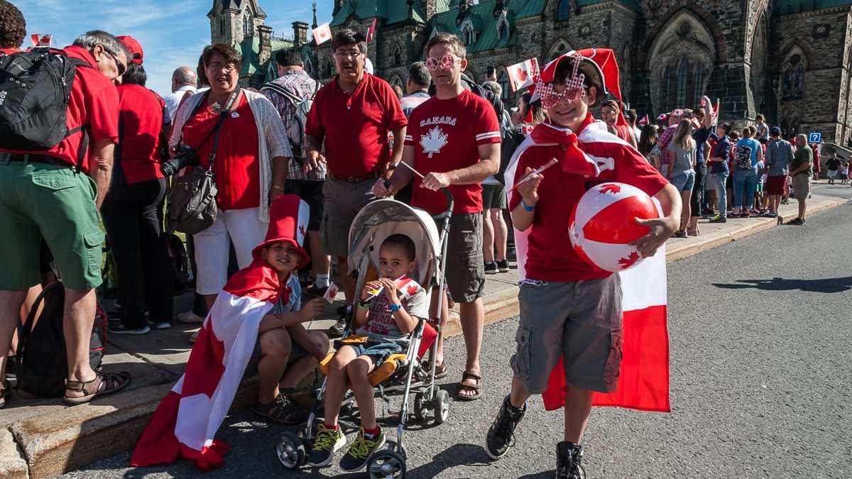Rot-Weiß - der Dresscode für den Canada Day